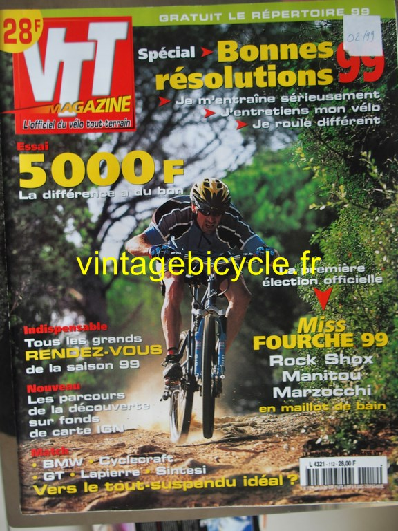 Vintage bicycle fr vtt magazine 47 copier