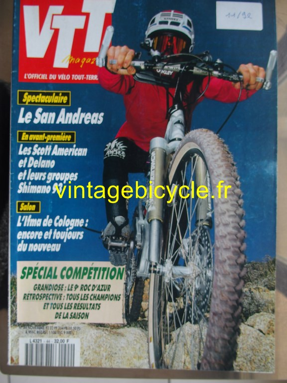 Vintage bicycle fr vtt magazine 5 copier