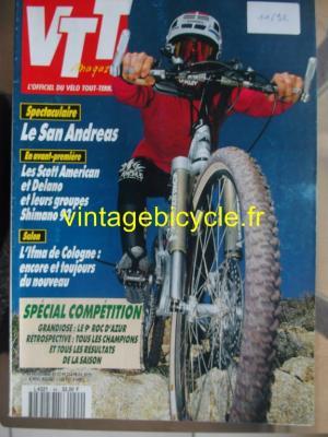 VTT MAGAZINE 1992 - 11 - N°44 novembre 1992