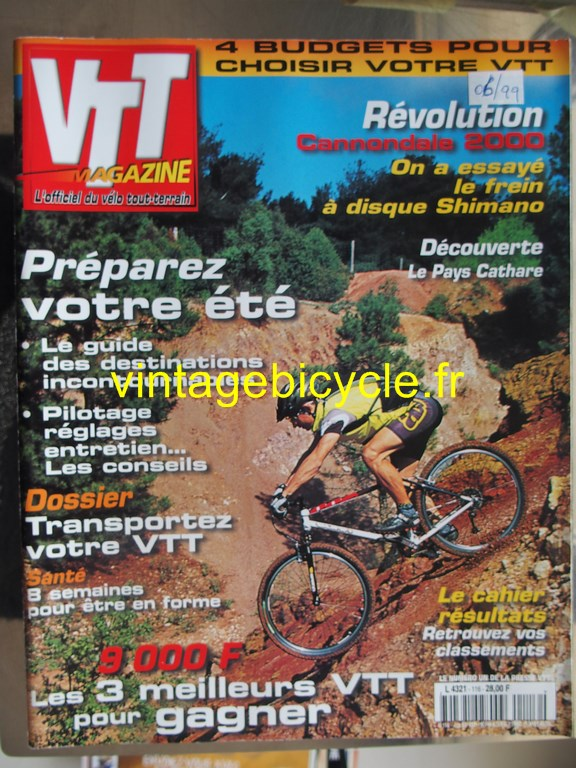 Vintage bicycle fr vtt magazine 50 copier