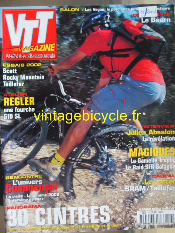 Vintage bicycle fr vtt magazine 57 copier
