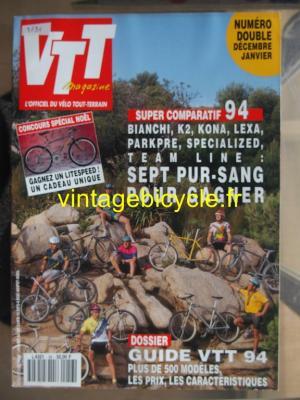 VTT MAGAZINE 1993 - 12 - N°56 decembre 1993 / janvier 1994