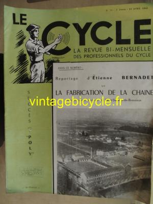 LE CYCLE 1943 - 04 - N°11 avril 1943