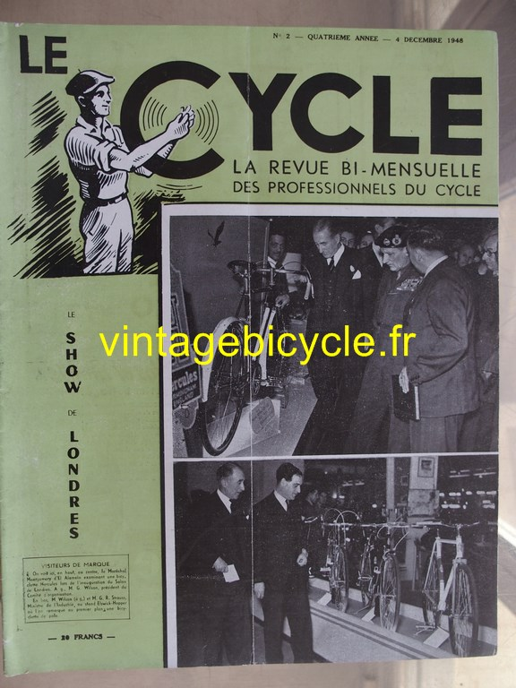 Vintage bicycle le cycle 34 copier