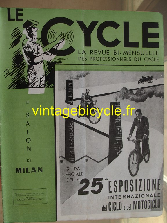 Vintage bicycle le cycle 38 copier