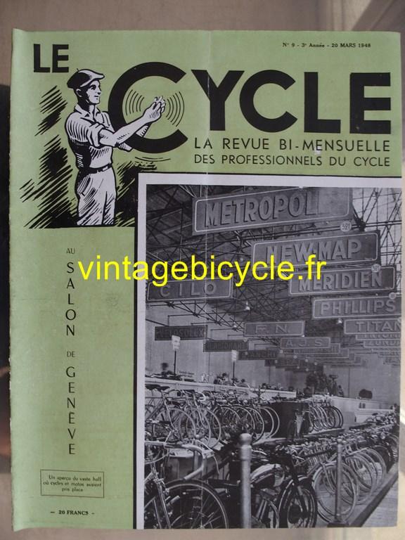 Vintage bicycle le cycle 44 copier