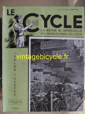 LE CYCLE 1948 - 03 - N°9 mars 1948
