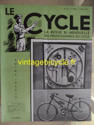 LE CYCLE 1948 - 05 - N°12 mai 1948