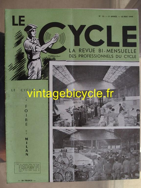 Vintage bicycle le cycle 48 copier