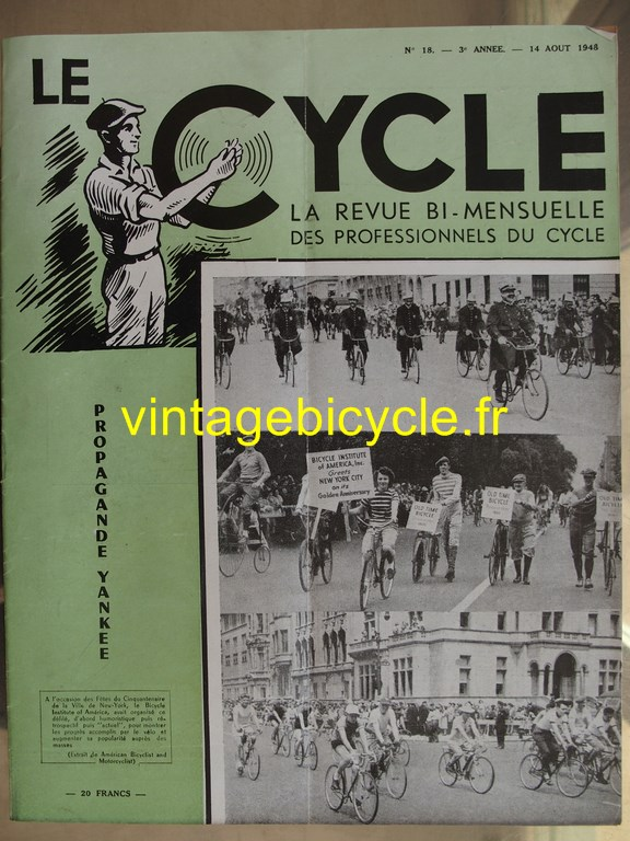 Vintage bicycle le cycle 53 copier