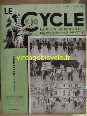LE CYCLE 1948 - 08 - N°18 aout 1948