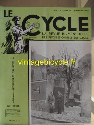 LE CYCLE 1949 - 02 - N°6 fevrier 1949