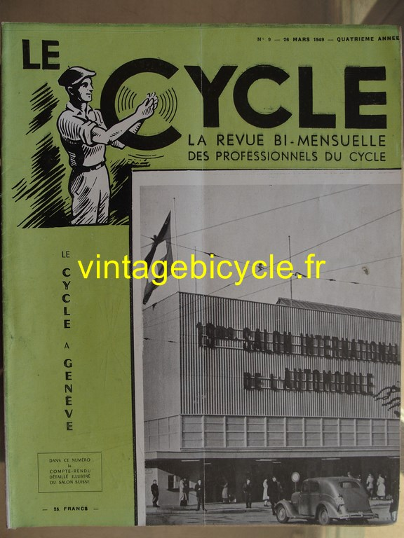 Vintage bicycle le cycle 68 copier