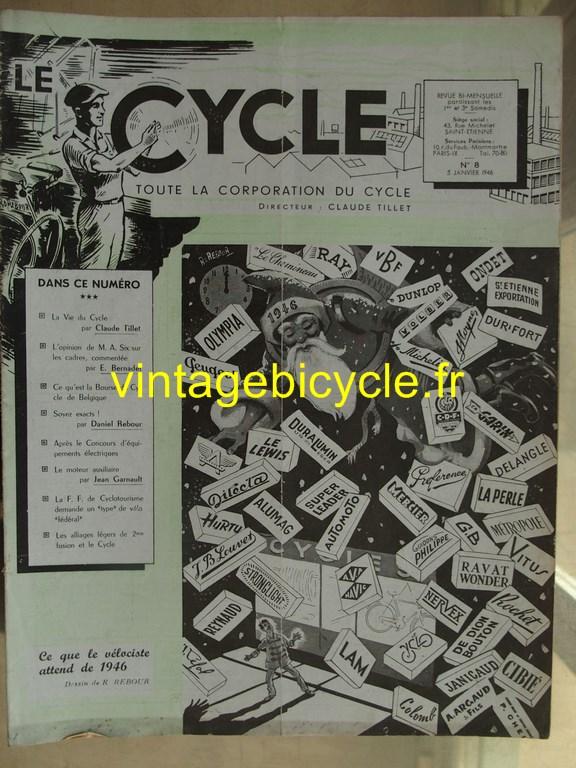 Vintage bicycle le cycle 7 copier