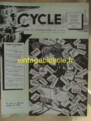 LE CYCLE 1946 - 01 - N°8 janvier 1946