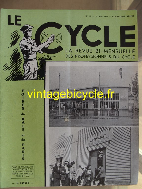 Vintage bicycle le cycle 71 copier
