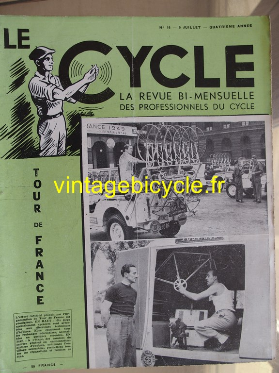 Vintage bicycle le cycle 74 copier