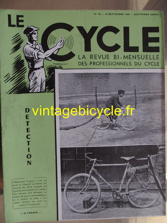 Vintage bicycle le cycle 76 copier