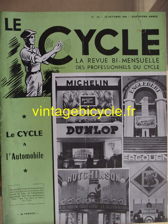Vintage bicycle le cycle 77 copier