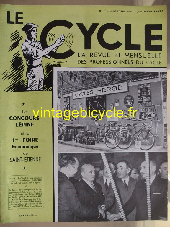 Vintage bicycle le cycle 80 copier